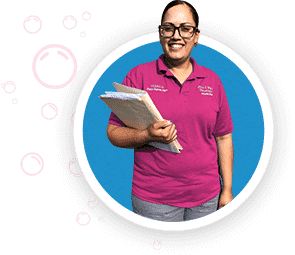 house cleaning services team member in West Lawn